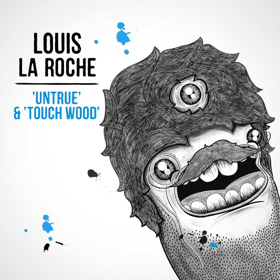 louis la roche ep rc3a9duit1 Louis La Roche   Untrue & Touch Wood